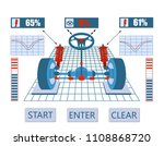 car service. image of the...   Shutterstock . vector #1108868720