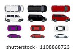 set of black and white  red... | Shutterstock . vector #1108868723