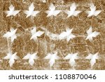 the surface of the stone is... | Shutterstock . vector #1108870046