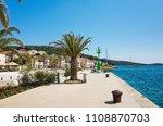 rogoznica  croatia  may 20 2018 ... | Shutterstock . vector #1108870703