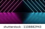 sci fi futuristic dark room... | Shutterstock . vector #1108882943