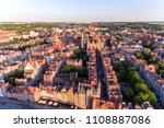 photo of the old town of gdansk ... | Shutterstock . vector #1108887086