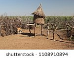 dwellings and villages of... | Shutterstock . vector #1108910894