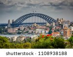 view of sydney residential... | Shutterstock . vector #1108938188