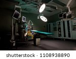 an empty operating room with... | Shutterstock . vector #1108938890