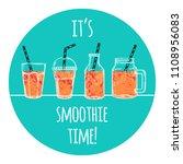 set of vector illustrations... | Shutterstock .eps vector #1108956083