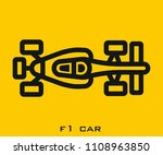 car icon signs | Shutterstock .eps vector #1108963850