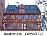 reconstructed half timpered... | Shutterstock . vector #1109005724