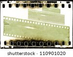 film strips background | Shutterstock . vector #110901020