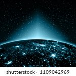 earth from space. best internet ... | Shutterstock . vector #1109042969