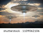 3d illustration. invasion of...   Shutterstock . vector #1109062106