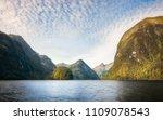 interesting mountain range at... | Shutterstock . vector #1109078543
