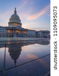 capitol building  washington dc ... | Shutterstock . vector #1109095073