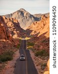valley of fire state park ... | Shutterstock . vector #1109096450
