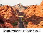 valley of fire state park ... | Shutterstock . vector #1109096453