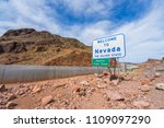 nevada  usa   april 29 2018  ... | Shutterstock . vector #1109097290