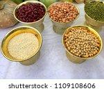 buddha and hindu fruits and...   Shutterstock . vector #1109108606