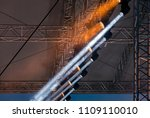 concert lightning equipment.... | Shutterstock . vector #1109110010