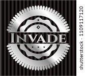 invade silvery einvade silver... | Shutterstock .eps vector #1109117120