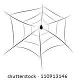 spider web illustration  for... | Shutterstock .eps vector #110913146