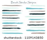 modern ink blue brush stroke... | Shutterstock .eps vector #1109143850
