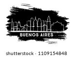buenos aires argentina city... | Shutterstock .eps vector #1109154848