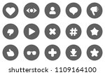 user activity statistic icons....