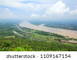 mekong river view from wat pha... | Shutterstock . vector #1109167154