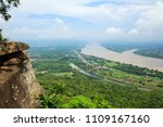 mekong river view from wat pha... | Shutterstock . vector #1109167160