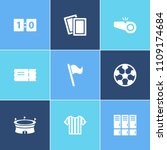football icon set and lockers...