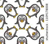 vector seamless pattern of... | Shutterstock .eps vector #1109178008