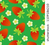 seamless pattern on a bright... | Shutterstock .eps vector #1109186210