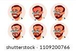 avatar icon man vector. turkish.... | Shutterstock .eps vector #1109200766