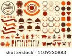 vintage retro vector logo for... | Shutterstock .eps vector #1109230883