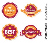 vintage retro vector logo for... | Shutterstock .eps vector #1109231813