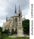 notre dame cathedral   paris | Shutterstock . vector #110924168