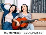 cool song. best girl friens or... | Shutterstock . vector #1109243663