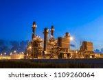 gas turbine electrical power... | Shutterstock . vector #1109260064