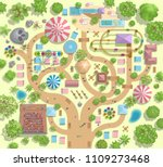 vector illustration. amusement...   Shutterstock .eps vector #1109273468