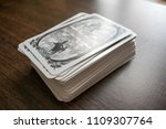 photo cards for fortune telling ... | Shutterstock . vector #1109307764