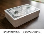 photo cards for fortune telling ... | Shutterstock . vector #1109309048