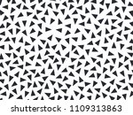 black triangles on a white... | Shutterstock .eps vector #1109313863