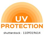 uv skin and ultraviolet icon... | Shutterstock .eps vector #1109319614