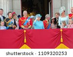 queen elizabeth   royal family  ... | Shutterstock . vector #1109320253
