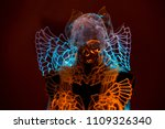 spiritual costume of crystal... | Shutterstock . vector #1109326340