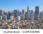 aerial view of san francisco... | Shutterstock . vector #1109336984