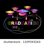 vector illustration of color... | Shutterstock .eps vector #1109343263