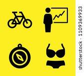bike  compass  bikini and...