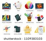 creativity icons imagination... | Shutterstock .eps vector #1109383103