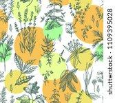 graphic color decorative...   Shutterstock .eps vector #1109395028